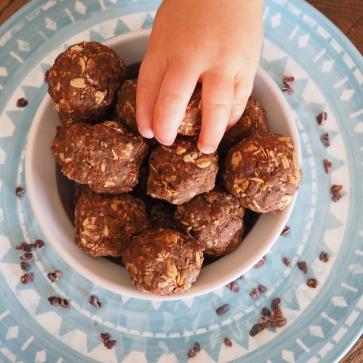 Toddler Tahini Bites